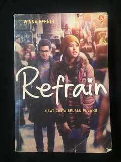 Novel Refrain - saat cinta selalu pulang