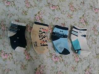 Baby Kiko Socks (6-12months) - 4pairs for RM20 #MY1212