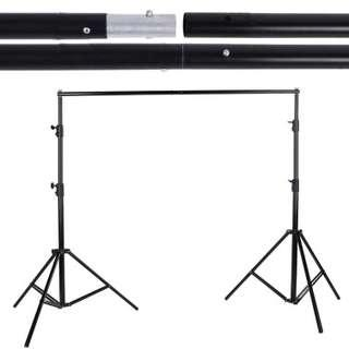 Rent Photography Wedding Party Photo-Shoot Heavy Duty Backdrop Stand