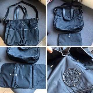 ORIGINAL Tory Burch Diaper bag Nylon black