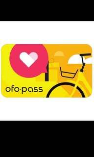 Ofo 30 day pass x2