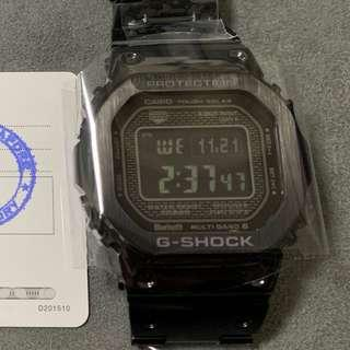 NEW G-Shock Black Steel Negative Display B-5000