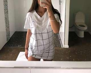 RPM t-shirt dress