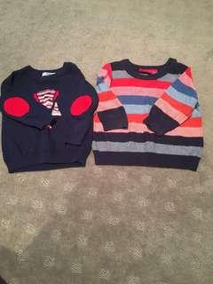 Jumpers 100% cotton