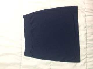 Navy blue skirt size small