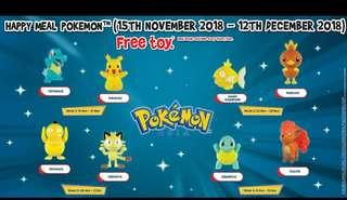 🚚 Looking for Sealed 2018 McDonald's Happy Meal Pokemon Asia Pikachu Toy.
