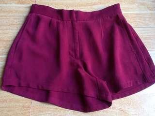 F21 HW flowy shorts