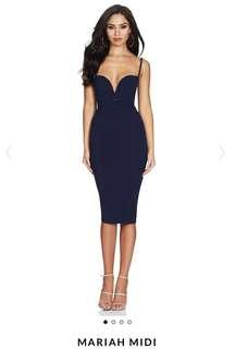 Brand New - Nookie Mariah Midi Dress