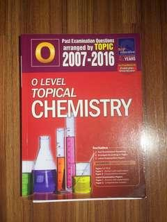 O Level Topical Chemistry TYS (2007-2016)