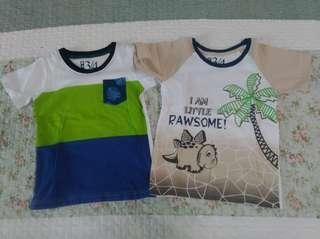 Combo Kid Shirts (3-4 years) #MY1212