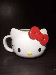 Hello kitty die cut mug original Sanrio