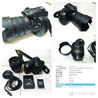 🚚 Nikon D5000+nikkor 18-70 ED