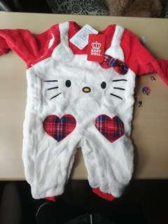 全新 Baby doll Hello kitty 連身衣