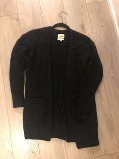 Aritzia black cardigan