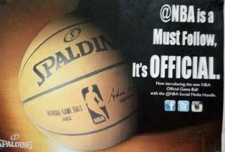 Spalding Offical Game Ball
