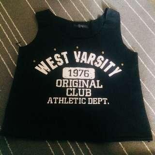 Vintage style sleeveless top