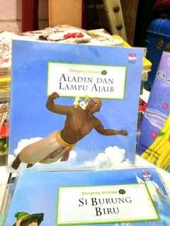 Dongeng Animasi 3Dimensi, Aladin dan Lampu Ajaib