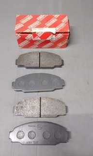 Toyota Dyna brake pads front (LY211)