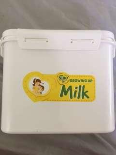 Nido Milk Container