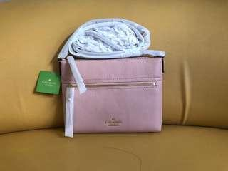 Authentic kate spade leather sling bag