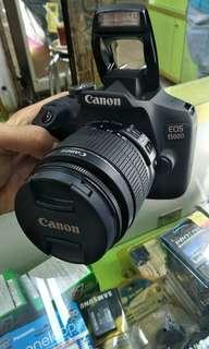 Promo bunga 0% untuk kamera canon