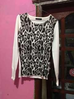 Sweater leopard the express