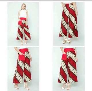 kulot batik New