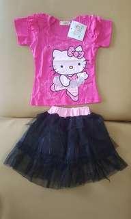 Hk  pink tutu set