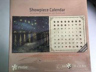 Pintoo Puzzle Showpiece Calendar