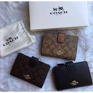 Coach small wallets