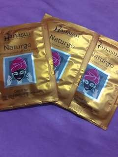 Hanasui Naturgo lightening peel off face mask