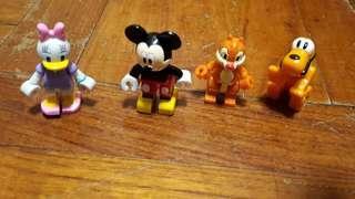 Mickey Minnie 扭蛋 (中古品)