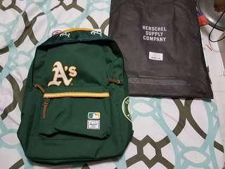 f386ca23ac4 Ung green Herschel Heritage Backpack MLC Oakland Athletics