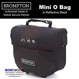 BROMPTON Mini-O Bag in Reflective Black