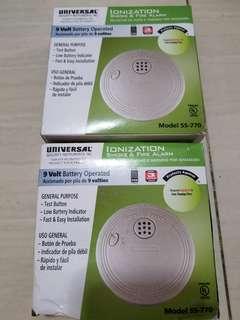 2 pc Smoke detector