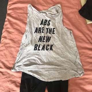GYM CLOTHES SET Cotton On Active Top and H&M Sport