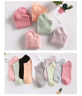 🚚 糖果色良品短襪