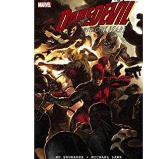 Daredevil by Ed Brubaker (Omnibus + Paperbacks)