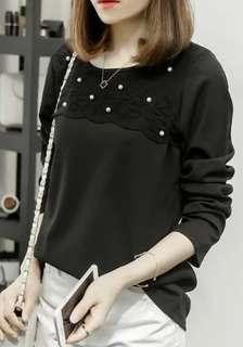 Brand New Plus Size Long Sleeve Blouse