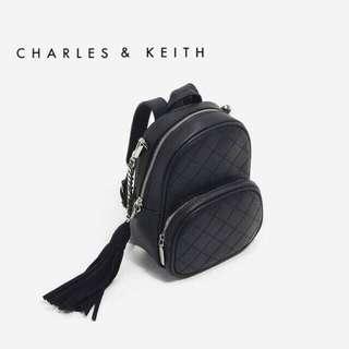 Charles & keith mini bagpack & sling