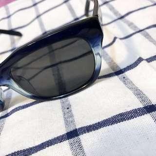 🚚 設計品牌Glasense 漸層藍 墨鏡