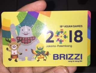 EMoney BRIZZI edisi Asian Games 2018
