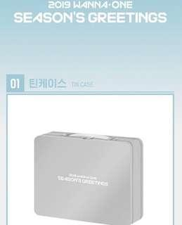 [LOOSE ITEM] Wanna One 2019 Season's Greeting