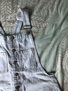 TEMT jean/denim overall shorts