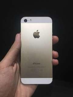 Iphone 5s 16gb Gold MYSET