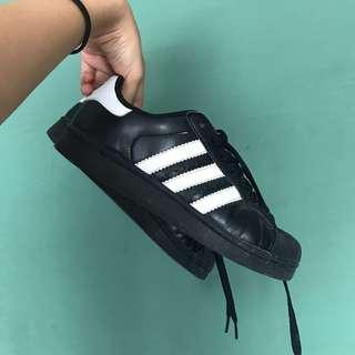 Adidas Superstar Shoes (all-black)