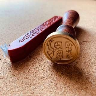 Wax Seal Stamp - Letter R