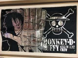 One Piece Fabric Poster