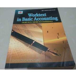 Worktext in Basic Accounting