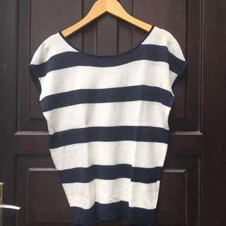Stripe Top ( Preloved )